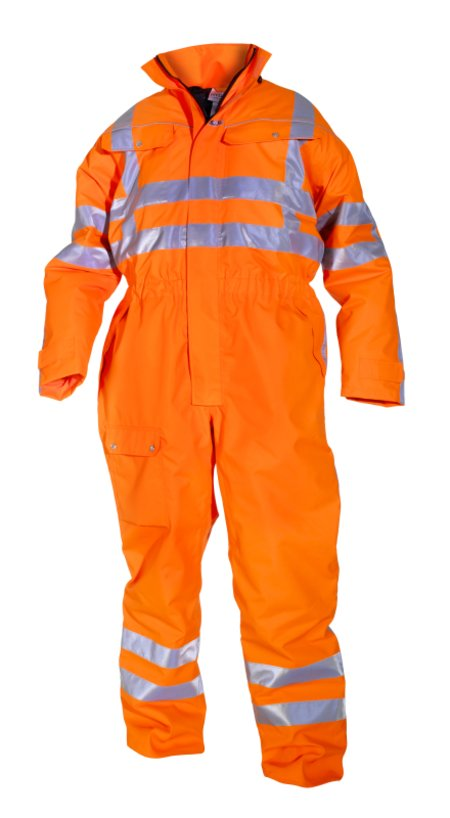 Hydrowear Simply No Sweat Hi-Vis Overall Uelsen