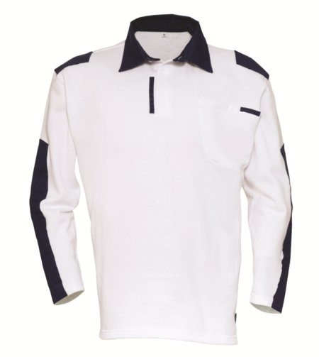 Havep Painter Polo Sweater 10021