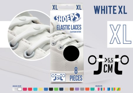 Shoeps XL Elastische veters